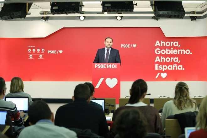El PSOE: 'Una consulta no es un referéndum de autodeterminación'