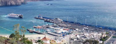 ASG pide la implicación institucional para adecuar el puerto de Los Cristianos