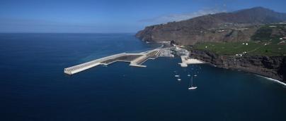 El puerto de Tazacorte se iniciará en el mercado de cruceros el próximo año