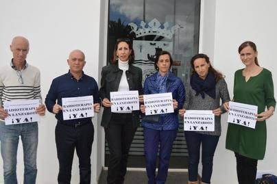 Tías solicitará al Ejecutivo la implantación de un servicio de radioterapia en Lanzarote