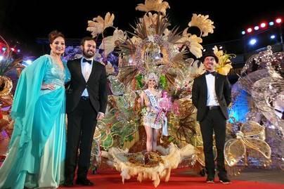 Dulce Quintero, reina del Carnaval del Puerto de la Cruz