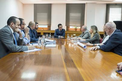 El Cabildo y Ejecutivo se coordinan para ultimar el proyecto del tren de Gran Canaria
