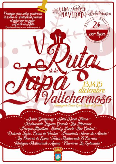 Vallehermoso celebra su 'Ruta de la Tapa' este fin de semana