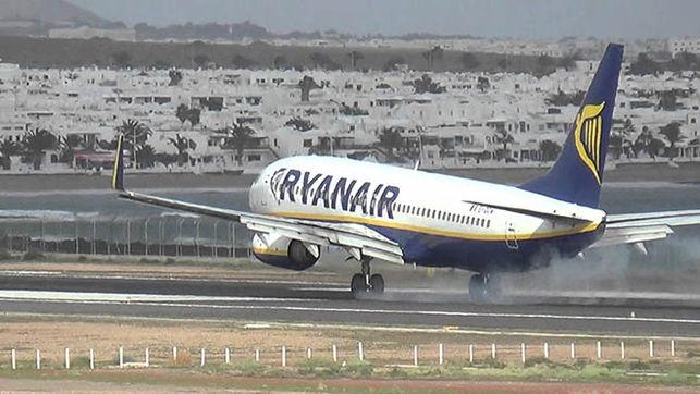 Ryanair aumenta frecuencias entre Londres Stansted y Tenerife Sur