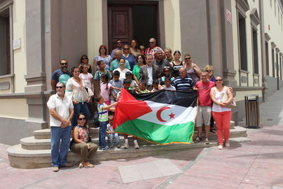Fuerteventura recibe a los saharauis del programa 'Vacaciones en Paz'