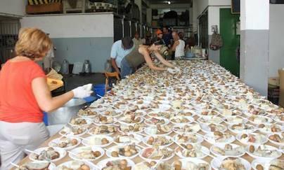 El sancocho más multitudinario este viernes en La Tiñosa