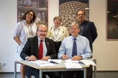 Rubricado el acuerdo para instalar la red de telescopios Cherenkov en La Palma