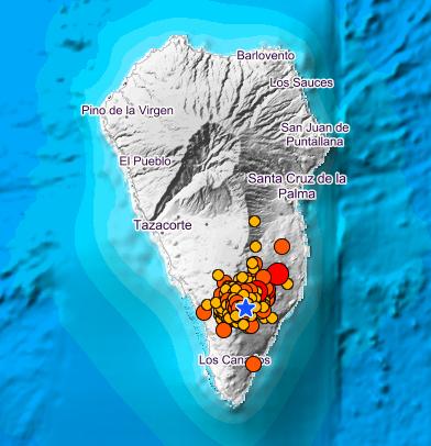 Un terremoto de 4,8 se deja sentir en La Palma, Tenerife, La Gomera y El Hierro