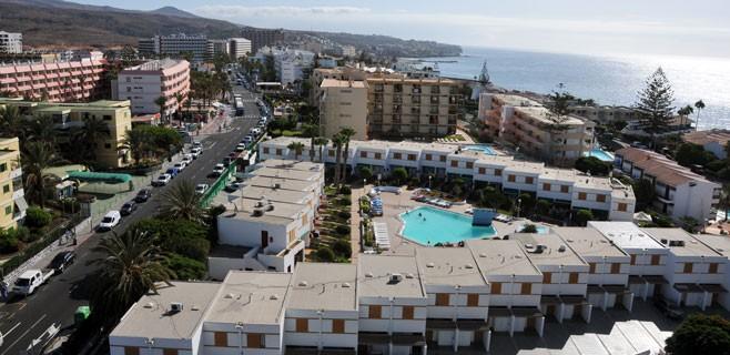 Las pernoctaciones en apartamentos caen un 11,4% en Canarias en junio y se quedan en 2,1 millones