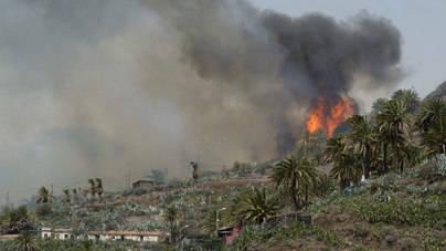 Canarias está en riesgo de incendios