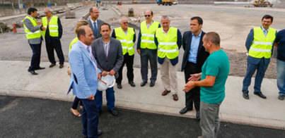 El aparcamiento intermodal El Rincón abrirá sus puertas en septiembre
