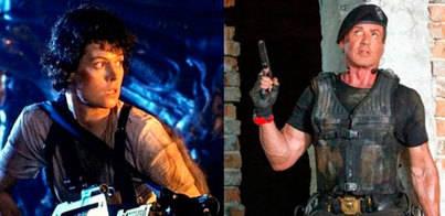Sigourney Weaver, la 'mercenaria' de Stallone