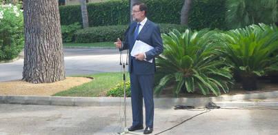 Rajoy: 'No habrá prospecciones en Baleares si hay indicios de problemas'