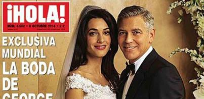 Primeras imágenes de la boda de George Clooney