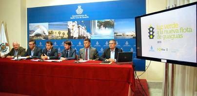 Santa Cruz invierte 4,3 millones en la renovación de la flota urbana de Titsa