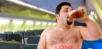 Uno de cada 7 turistas llega a España borracho