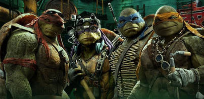 Las tortugas ninja destronan a Torrente