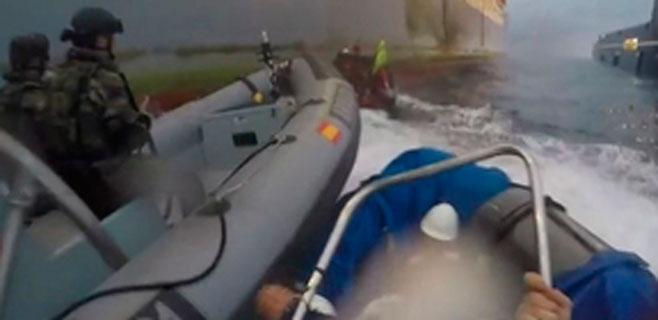 Greenpeace denuncia a la Armada por imprudencia grave