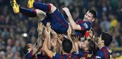 Messi, máximo goleador de la historia de la Liga