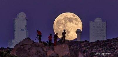 La Superluna desde el Teide entre las mejores de 2014