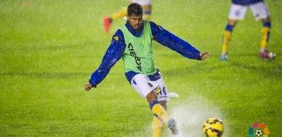 Sabadell-Las Palmas suspendido por la lluvia