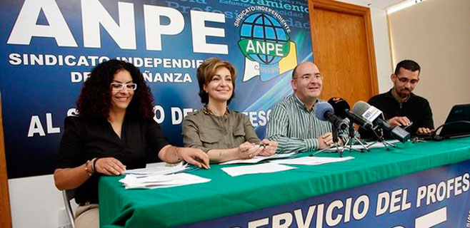 ANPE exige la negociación de las listas de empleo del profesorado interino
