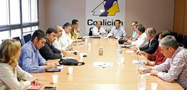 Las elecciones centran la primera reunión de Coalición Canaria en 2015