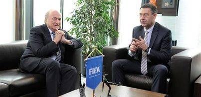 Blatter: 'El Barça debe aceptar las decisiones con respeto'