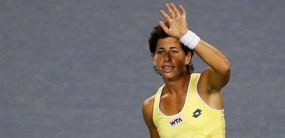 Carla Suárez en cuartos de final en Brisbane