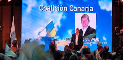 Clavijo lidera el acto de presentación de las candidaturas electorales de CC
