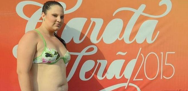 Una adolescente desafía los cánones en un concurso de belleza