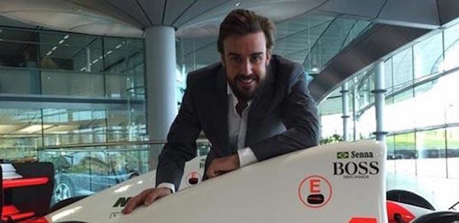 Alonso estrenará el MP4-30 en los entrenamientos de Jerez