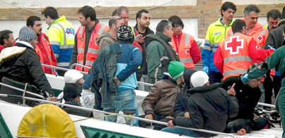 CC pide una política común para abordar la 'tragedia' de la inmigración