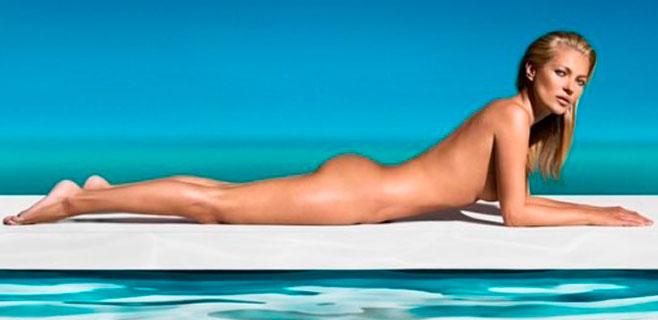 Kate Moss luce espectacular a los 41