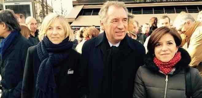 Izaskun Bilbao reivindica en París