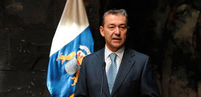 Rivero guarda silencio sobre la negociación del pacto CC-PSOE