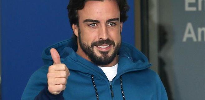 Alonso sale del hospital y no correrá el próximo test