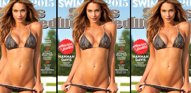 Hannah Davis se lleva la portada de 'Sports Illustrated'