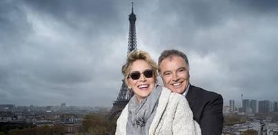 La torre Eiffel es el escenario preferido para un selfie