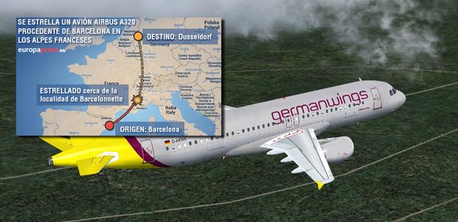 La mayoría de pasajeros son alemanes que volvían de Mallorca