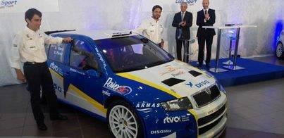 El Disa-Skoda Fabia WRC estará en Santa Brigida