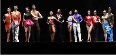 Miriam y Patrick Herrera, ganadores del Canarias Salsa Open