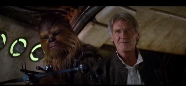 "Harrison Ford: ""Chewie, hemos vuelto"""