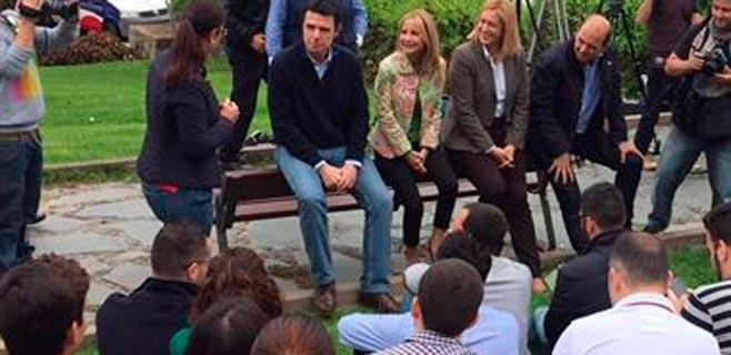 Australia Navarro propone un Pacto por la Educación en Canarias