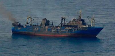 El pesquero 'Oleg Naydenov' se hunde a 15 millas al sur de Maspalomas