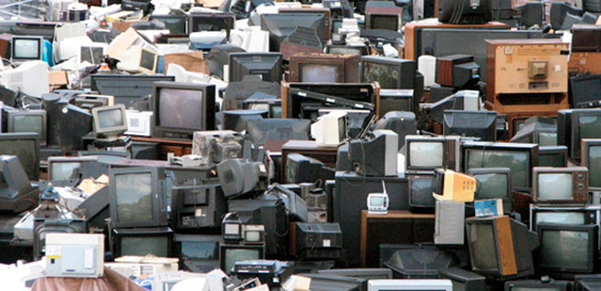 Canarias acumulo 4.853 toneladas de residuos electrónicos en 2014