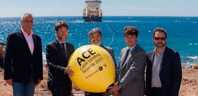 Llega a Tenerife el cable que conectará Europa con África