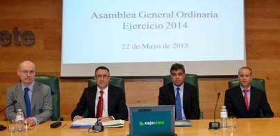 Cajasiete sigue incrementando su contribución al desarrollo de Canarias