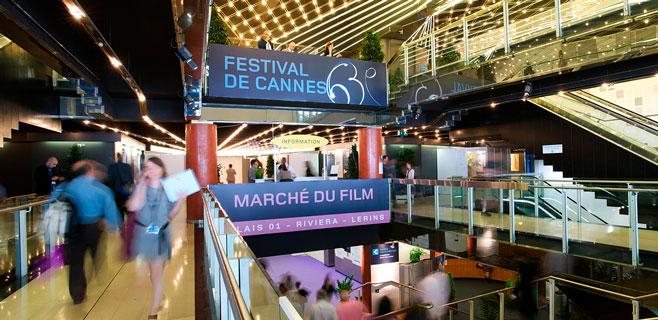La isla se promociona como plató en el Marché du Film de Cannes