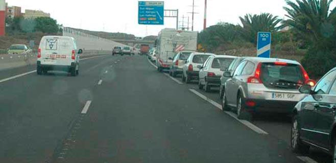 Un fallecido en una colisión en Las Chafiras